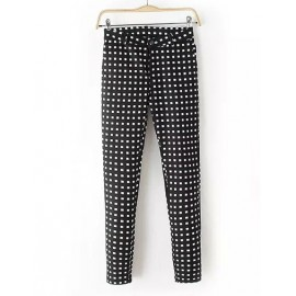 Chic Square Stretchy Pencil Pants in Slim Fit Size:S-XL