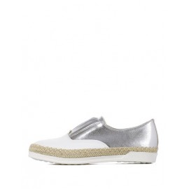 Japanese Without Tie Weave Trim Flats with Almond Toe Size:35-39