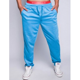 Casual Drawstring Waist Sweatpants in Pure Color