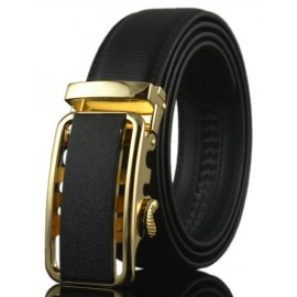 Chic Hollow Out Design Alloy Buckle Belt For Men