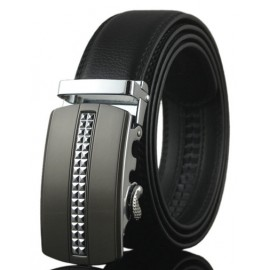 Chic Inlay Alloy Automatic Buckle Belt For Men