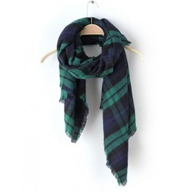 Charming 190CM Plaid Scarf in Fringed For Women