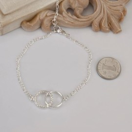 A005 Free Shipping New Design Large Stock Delicate Handmade Cheap Silver Plated Anklet Bulk Sale