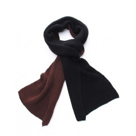 Cozy Must-Have Scarf in Two Color Matching