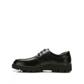 All-Season Lace-Up Polished Dress Shoes with Seaming Trim