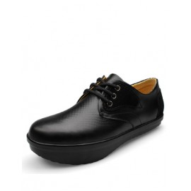 Useful Solid Color Hunchback Correction Shoes with Lace-Up