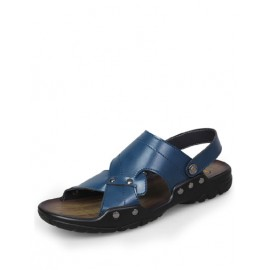 Leisure Sling Back Studs Detail Sandals with Open Toe