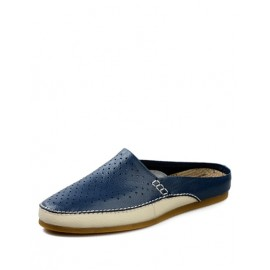 England Perforate Trim Slippers in Two Tone
