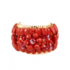 Fascinating Bead Inlay Rectangle Bracelets For Women