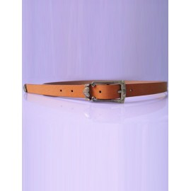 Likable Peach Heart Ornament Belt with Pin Buckle For Women