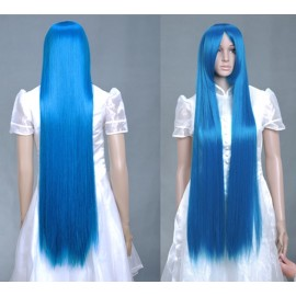 Stylish 100cm Long Straight Cosplay Party Hair Full Wig/Wigs + Free Wig Cap